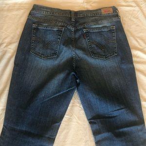 Light wash Levi 10M boot cut